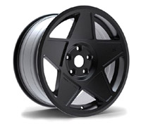 "3SDM.05.100.18.B 3SDM 0.05 Wheel | 18"" 5x100 Black"