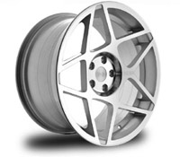 "3SDM.08.20inch_5x112 3SDM 0.08 Wheel | 20"" Silver - 5x112"