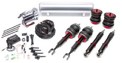 BAG-B6-B7-Quattro-3H-FullKit Air Lift Kit w/ Performance 3H Audi B6 B7 A4 | S4
