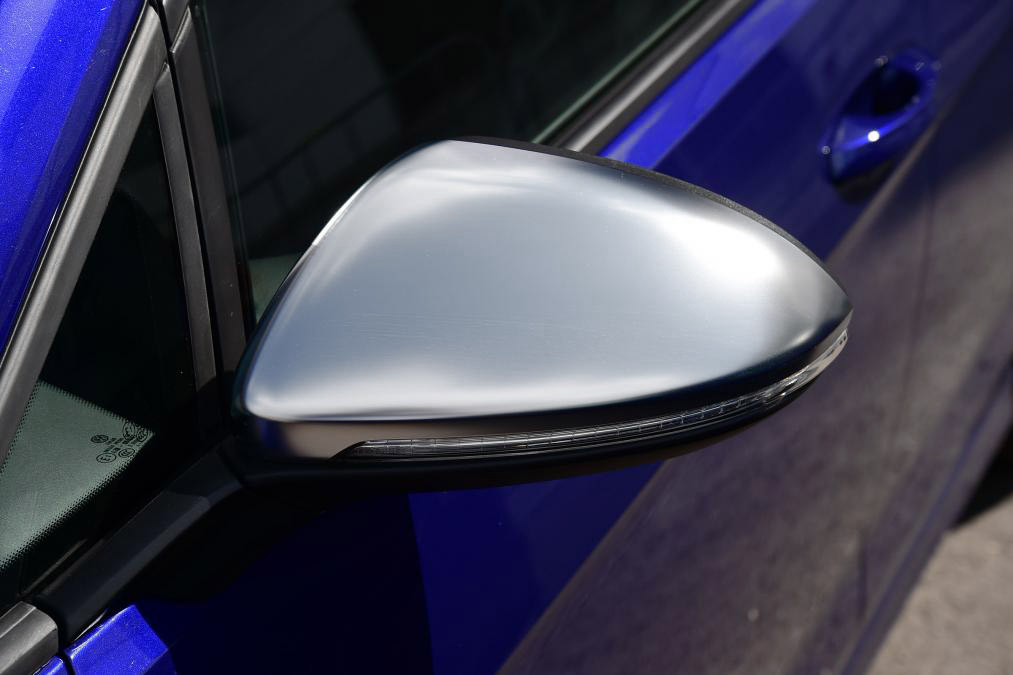 Brushed Aluminum Style Mirror Covers Mk7 Golf Gti Golf R