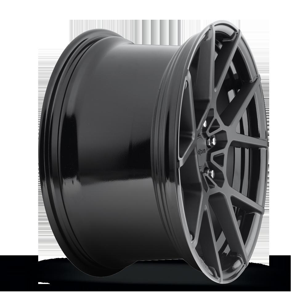 "Niche Wheels Mustang >> -Rotiform Cast KPS Wheel 18"" Matte Black Face w/Gloss Windows"