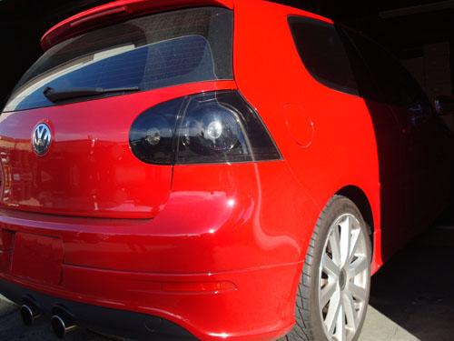 hvwgtl bs black smoked taillights mk golf rabbit gti
