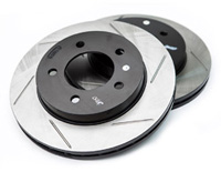 126.33035SL-R Rear Stoptech Power Slot Rotors - Set of 2 Rotors (226x10mm) Mk3 Golf | Jetta VR6