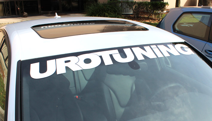 Urotuning 44inch urotuning 44 windshield sticker