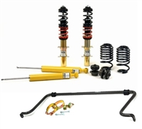 URO-0014 Mk5 R32 H-R Coilover and Rear Sway Bar Kit