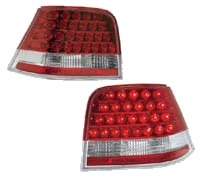 HVWG4TL-LED-RC Helix Mk4 Golf Led Tails - Red