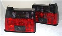 HVWJ2TL-SR MK2 Jetta Crystal Smoke | Red Tail Lights