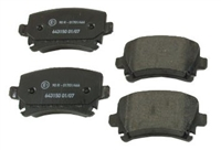 D1108T Rear | Textar Brake Pads | 310mm Mk7 GTi PP