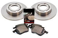 1K0615601AA_5K0698451A OEM Rear (272x10mm) Brake Kit | VW Mk6 GTi | GLi and Golf | Jetta