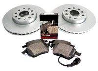 OEM Front Brake Rotors and Pads for VW Mk4 Golf | Jetta 1.8T | VR6