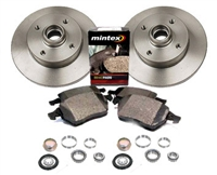 357615601_D104P OEM Rear Brake Kit | VW Mk3 Golf | Jetta 2.0L