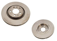 1K0615301AA Front | Plain OE Size Rotors - Sold as Pair - (312x25)