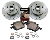 357615601_X_D104P Rear 226mm MK2 | Mk3 Golf | Jetta 4-cyl Sport Brake