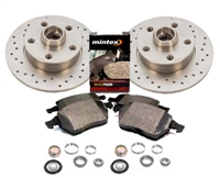 357615601B_X_D104P Rear 226mm Mk3 Golf | Jetta VR6 Sport Brake Kit