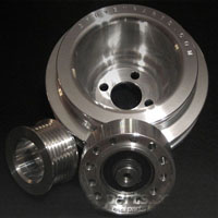 G_Pulley_ABA Gruvenparts - Billet Power Pulley Set | Mk3 2.0L