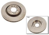 1J0615301S_qty2 Front Plain Brake Rotor | Mk4 Golf | Jetta 1.8T | VR6