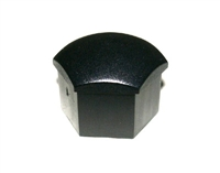 321601173A01C 17mm Head Wheel Bolt Caps (Black) - Priced Each
