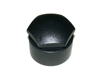 8D0601173B01C 17mm Head Wheel LOCK Bolt Caps (Black) - Priced