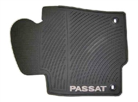 3C1061550HA041 Monster Mat Rubber Floor Mats | Passat logo (round