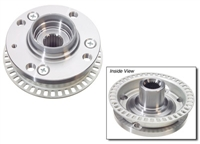 357407613B Wheel Hub Front | 87-99 4-Lug w/ ABS | VW GENUINE