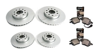 URO-0042 OEM Size Brake Kit | B6 Passat 3.6L 4-Motion