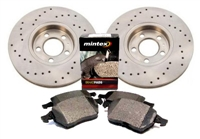 bk.perf.04 Rear 232mm Mk4 Golf | Jetta| NB|Audi TT Sport Brake