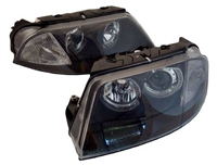 HVWP55HL-B Black ECode Projector Headlights with Angel Eyes |