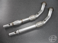 "EX-04-02X 42 Draft VW Mk4 1.8T 3"" Downpipe (1 Piece)"