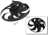 6X0959455F_Febi Radiator Fan Assembly and Motor | Left - Mk4