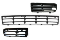 Mk4_golf_bumper_gril Front Bumper Grille Set | Mk4 Golf | GTi