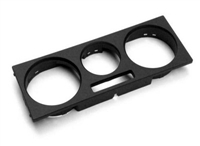 1J0819157G1QA Heater Control Trim Cover - Black | Mk4