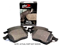 D1865D Rear | PBR Deluxe Brake Pads | Mk5
