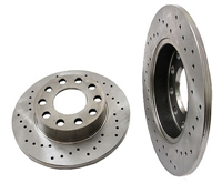 8E0615601BSP_qty2 Rear Rotors 245mm (Cross-Drilled) | B6 Audi A4