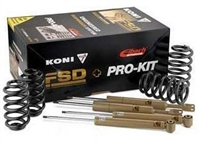 2150-4001-1 KONI FSD Shocks with Eibach Pro-Kit Springs | Mk5