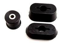 15.1105G Polyurethane Dogbone Bushings (Black) | Mk4
