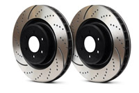 GD1203 Rear EBC Slotted | Dimpled Rotors - Set of 2 Rotors (255x10mm) B6  A4 1.8T | V6
