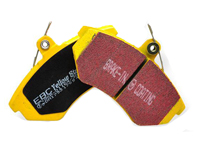 Rear | EBC YellowStuff Pads Set | E46 M3 | E46 330i | E39 M5 | E85 Z4 M | E38 7-Series - DP41118R
