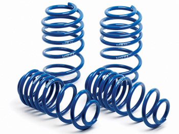 54757-77 H-R Super Sport Springs | Mk6 Golf TDi