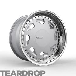 1552_3pc-Teardrop-Classic fifteen52 3-piece Teardrop Wheel