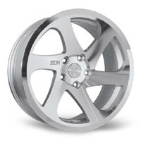 "3SDM.06.100.18.S 3SDM 0.06 Wheel | 18"" 5x100 Silver"