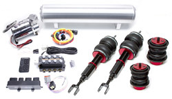 BAG_C6_SwitchSpeedFullKit Air Lift Kit w/ Accuair SwitchSpeed Analog Controls | C6 Audi A6 | S6