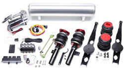 BAG_E9X_SwitchSpeedFullKit Air Lift Kit w/ Accuair SwitchSpeed Analog Controls | BMW E9X 3-Series RWD