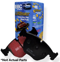 Rear | EBC Ultimax OE Brake Pads | E46 M3 | E46 330i | E39 M5 | E85 Z4 M | E38 7-Series - UD683