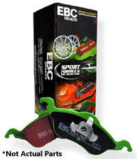 DP22127 Front | EBC GreenStuff Sport Brake Pads | 340mm Mk7 GTi PP | Golf R | Audi S3
