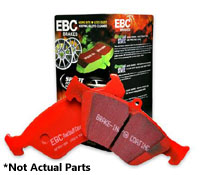 DP31112C Front | EBC RedStuff Ceramic Race Brake Pads | Mk3 Golf | Jetta 4 Cyl.