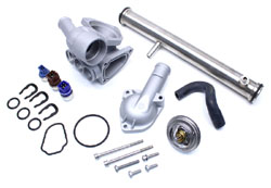 Metal-ULT-Thermo-Kit-Mk3-VR6 - Metal Ultimate Plus Thermostat Housing Kit | Mk3 VR6