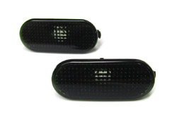 Mk4_Dark_Smoked_Fender_Markers Dark Smoked Oval Side Blinkers | Mk4