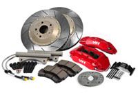 VWR65G5-7- VWR Monoblock 6-Piston Performance Brake Kit - Mk7 GTi