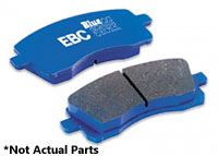 DP5680NDX Rear | EBC BlueStuff Track Brake Pads | MK4 Golf R32