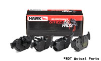 HB642B.658 Rear | Hawk HPS 5.0 Compound Performance Brake Pads | B8 Audi A4 | A5 | S5 | S4 | Q5